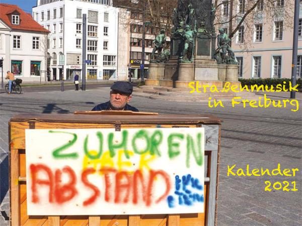 Straßenmusik in Freiburg 2021